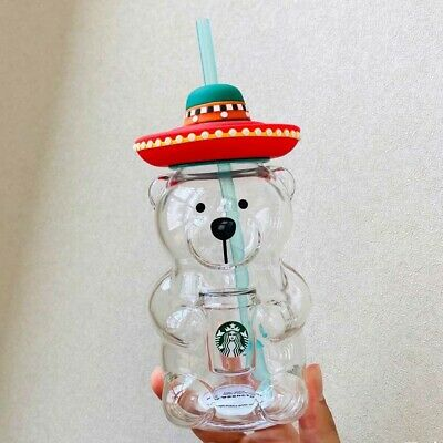 Starbucks Tumbler China Summer Latin American Luminous glow straw 16oz SS Cup