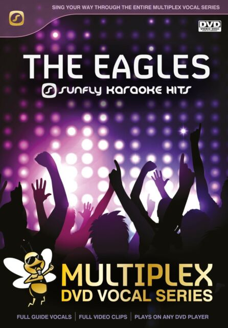 THE EAGLES - SUNFLY MULTIPLEX KARAOKE DVD - 13 HIT SONGS