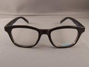 Ladies Black Frame Glasses : Black frame Clear lens sunglasses wayfarer womens ladies ...