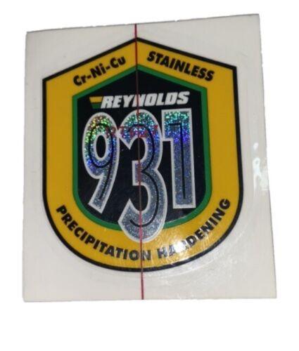REYNOLDS 931 Original Cadre Autocollant