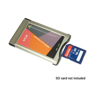 New original pcmcia to sd pc card adapter for mercedes for Pcmcia card for mercedes benz