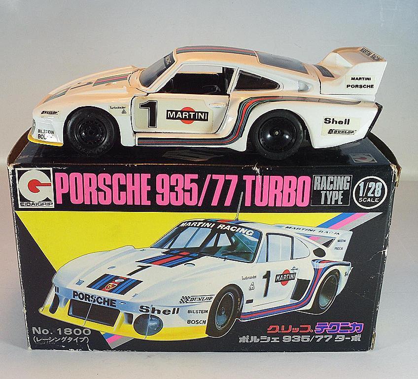 Eidai Grip 1 28 no 1800 Porsche 935 77 Turbo Metal OVP