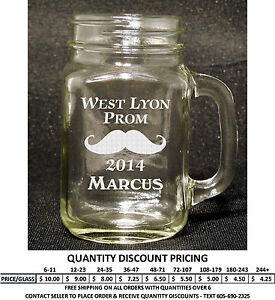 personalized mason jar glass custom engraved mason jar glasses