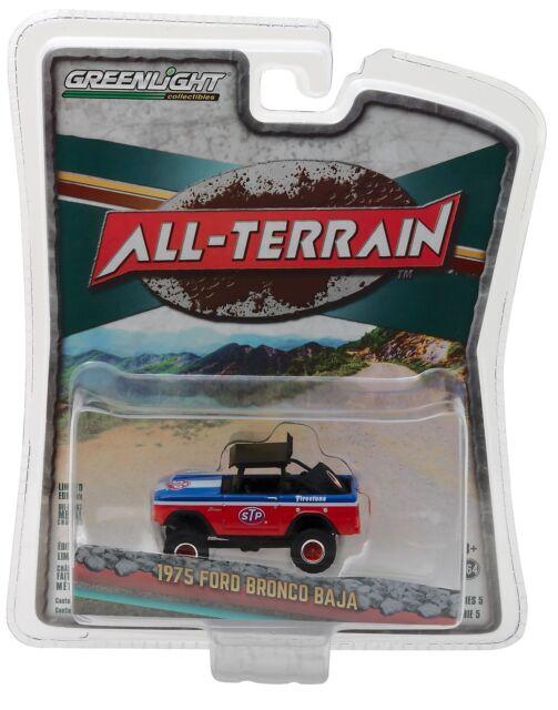 All Terrain R5 1:64 Greenlight 1970 Ford F-100 Ford Racing
