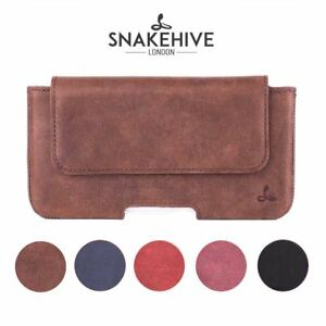 promo code b855b 0ef2d Details about Snakehive Apple iPhone 8 Plus Vintage Leather Belt Pouch  Utility Phone Case