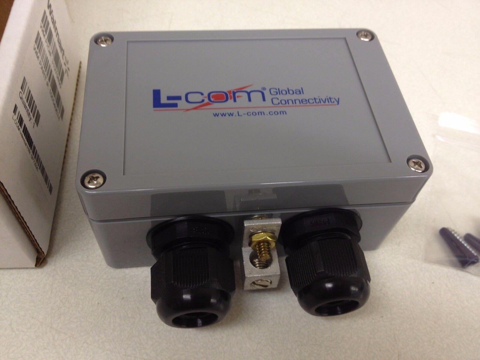 NEW L-Com CAT5e Weatherproof Lightning Surge Protector SP73925