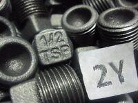 10 Boat Drain Plugs - 1/2 Tsp Cast Iron