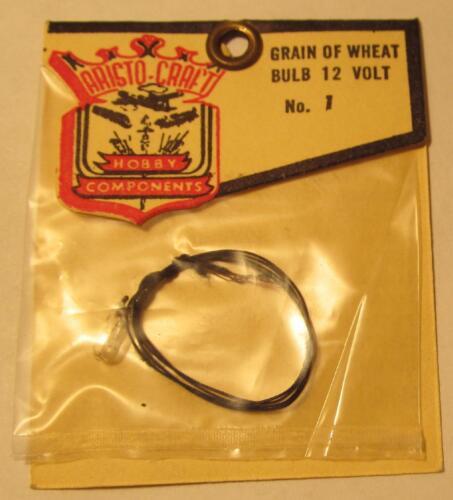 MIP 1960s Aristo Craft HO Grain of Wheat 12 Volt Clear Light Bulb