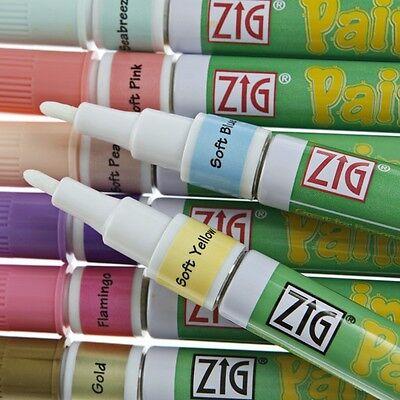 Zig Painty Paint Pen Fine Tip 1.3mm Permanent Marker FMP-10 Glass Metal Plastic