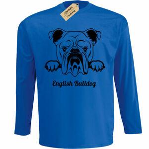 Bulldog Dog Lover Pet  Ladies T-Shirt Gift  Size S-XXL