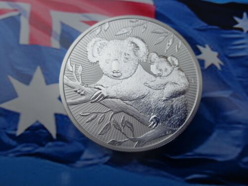 2018 2 oz Australian Koala Next Generation BU coin .9999 ultra fine silver