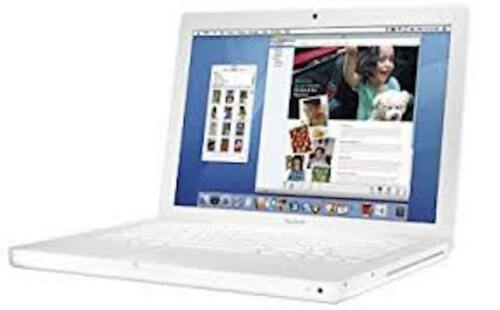"""1 of 1 - MacBook 2.0GHz Core 2 Duo 13"""" 80GB HDD (MB061LL/B)(Mid 2007) Upgraded 2GB RAM"""