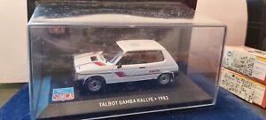 IXO-1-43-TALBOT-SAMBA-RALLYE-1983-NEUF-EN-BOITE