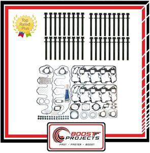 Cylinder Head Bolts Set for 2001-2010 Chevrolet Duramax Diesel LB7 LLY LBZ 6.6L