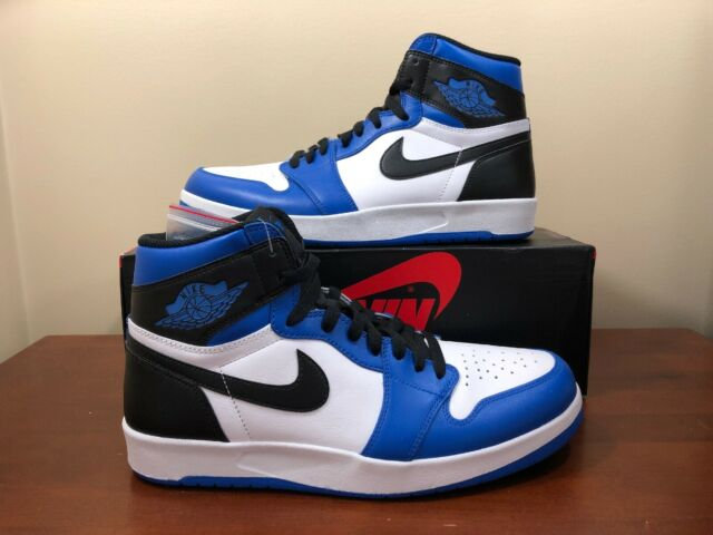7f2cf90de0498c Nike Air Jordan 1 High The Return Reverse Frag White Blue 768861-106 Size  10.5