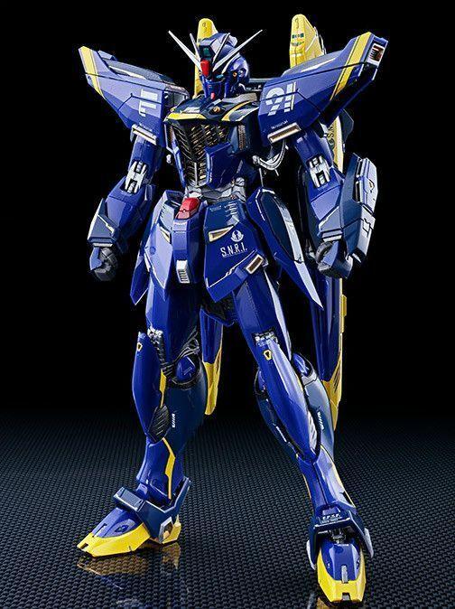 Metall Gebaut Knochen Gundam F91 Harrison Maddin Maßgeschneidertes Action Figur