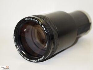 Docter-Wetzlar-Vario-Doctarlux-Objektiv-85-210mm-Kodak-Carousel-Stangentubus