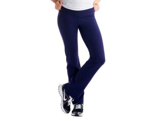 Women/'s Lole Motion Straight Leg Yoga Jogging Pants Blackberry