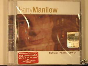 Barry-Manilow-Here-at-the-mayflower-2-bonus-tracks-CD-NUOVO-SIGILLATO