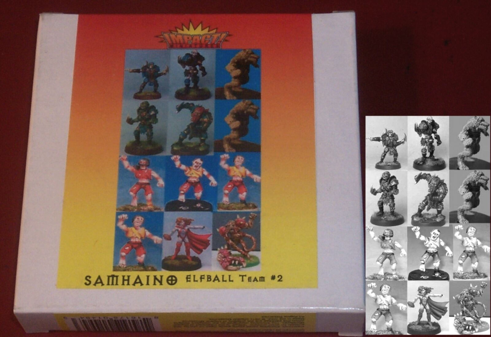 Elfball SM-ETM2 Samhaino Base Team (12) Miniatures Fantasy Football Players