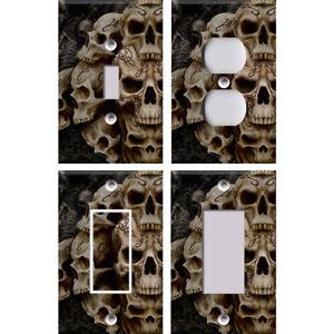 Skulls 2 - Light Switch Covers Home Decor Outlet | eBay