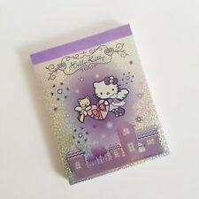 Hello Kitty Angel Purple Notepad Bear Heart Snow Love Memo Pad School Work Kawai
