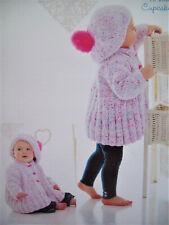 Knitting Pattern-Baby Layette upto 6 months Blanket// Cardigan//Hat//Booties P0329