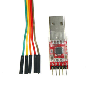 1pc-CP2102-Module-USB-to-TTL-Serial-Converter-UART-STC-Download-5pcs-Cable-NT