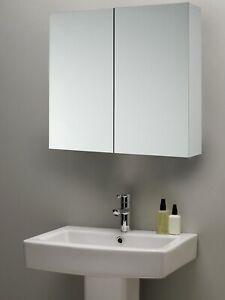 John-Lewis-amp-Partners-Two-Shelf-Double-Mirrored-Bathroom-Cabinet-White-A