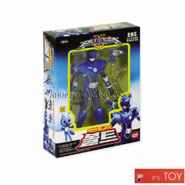 Sonokong MiniForce Super Ranger Action 4 Figures Set Volt,Semi,Max,Lucy