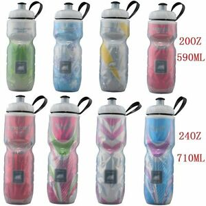 710ml BPA Free Sports Bottle Bike Cycling Insulated Cold Water