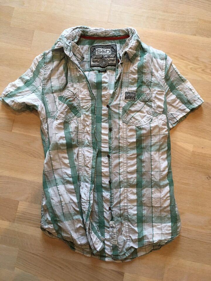 Skjorte, SuperDry, str. findes i flere str.