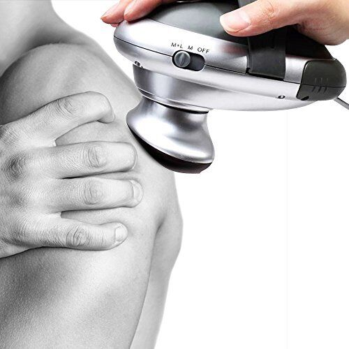 Comz Detachable 2-in-1 Electric Deep Tissue Massager w// Heating Function Adjust