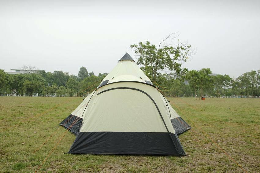 Tipi 6 Tent 6M Zipped-in-Groundsheet Family Camping 12 Person teepee 6 Tipi meter tent bdad18