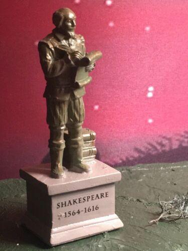Park STATUE Shakespeare for Dept 56 Lemax VILLAGE Christmas OR Halloween mini