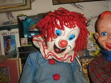 Vintage Larry Harmon Bozo The Clown Ventriloquist Dummy Doll EEGEE Puppet !!!