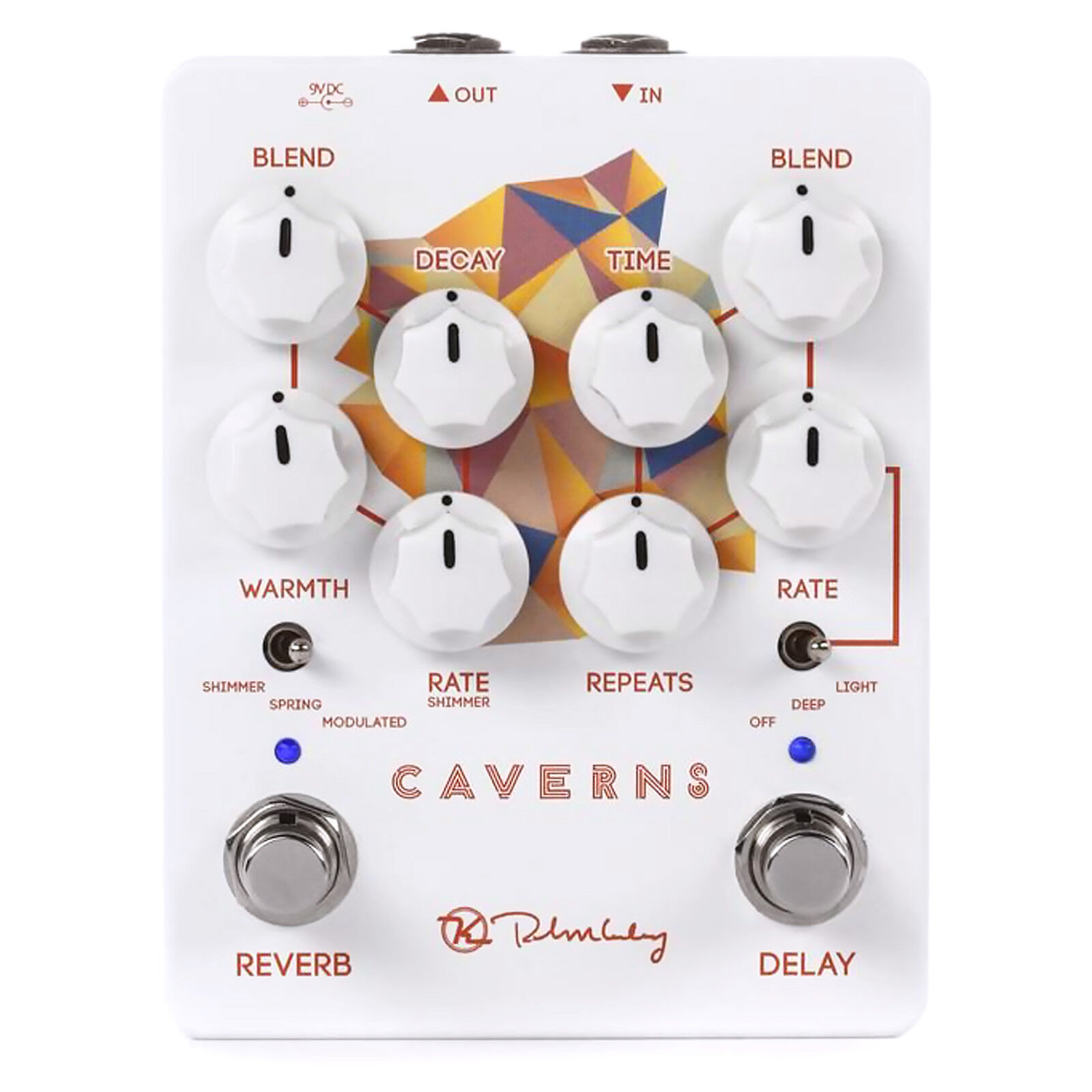 Keeley Caverns Delay & Reverb Pedal