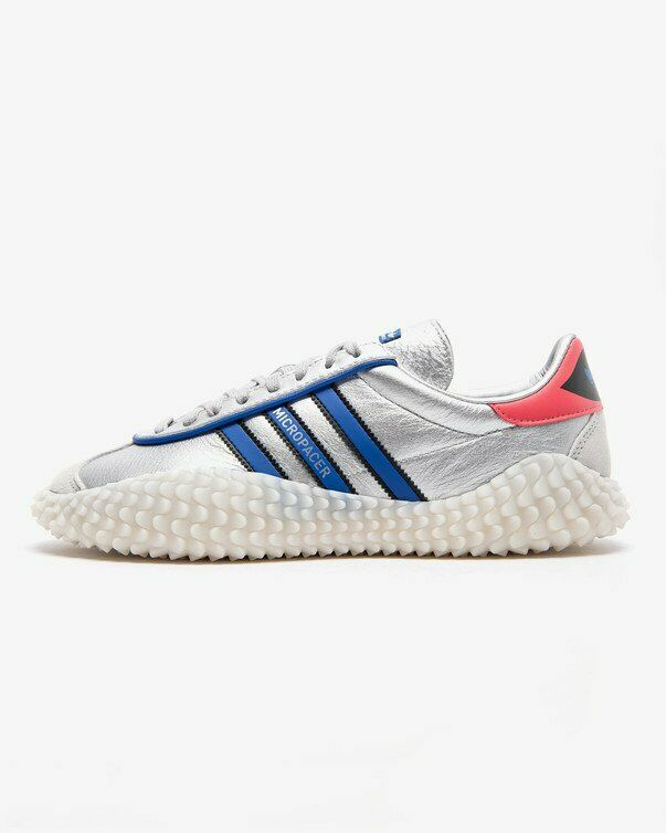 Adidas Country Kamanda Micropacer EF5546 Silver bluee Red shoes Sneakers NIB