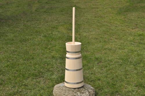 NUOVO in legno butterchurn//buttermaker zangola 2 LITRI