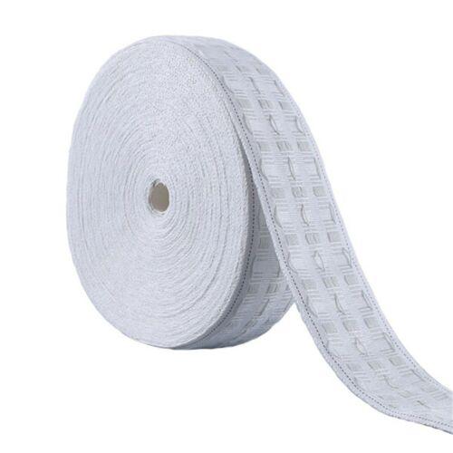 Premium White Pencil Pleat Curtain Header Tape 3 Inch 75mm Wide Sold per Meter