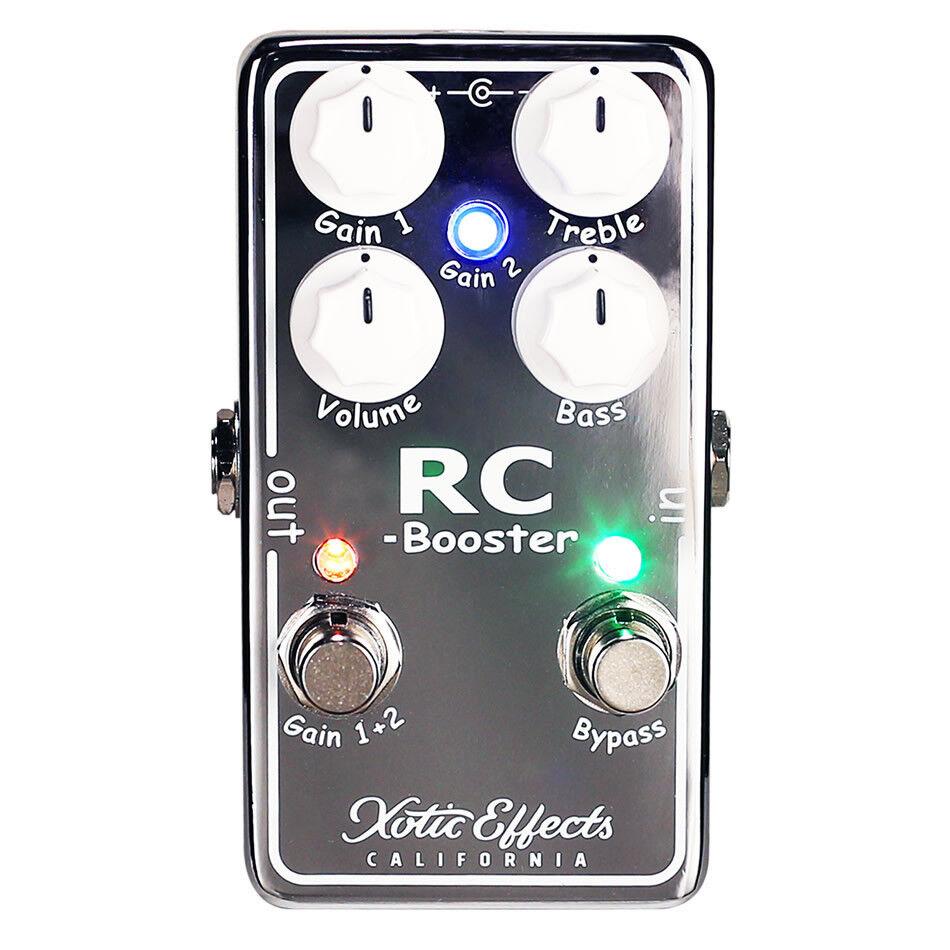 Asistente de xotic RC V2, limpiador de señales, guitarras, pedal de efectos secundarios.