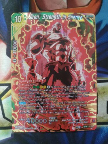 Jiren Strength in Silence BT9-119 Dragon Ball Super TCG Universal Onslaught