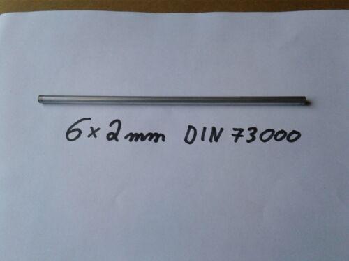 Einspritzrohr DIN 73 000  6x2 mm