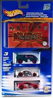 Hot Wheels Yu-gi-oh 3 Pack With Limited Edition Collector Guide 2001