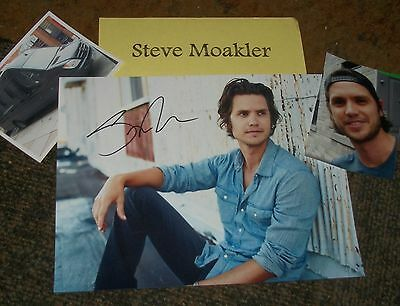 Country Steve Moakler Signed Photo & Photos /real Hot Utmost In Convenience Autographs-original