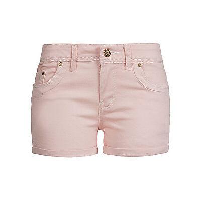 50% OFF B15060397 Damen Madonna Shorts Jeans mit Aufschlag 5-Pocket apricot rosa