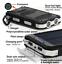 Waterproof-Solar-Power-Bank-900000mAh-Portable-External-Battery-Charger-White-US thumbnail 8