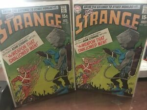 Strange-adventures-Lot-Of-2-224-Vg-F-INFANTINO-ART-2-15CENT-SILVER-AGE-BOOKS