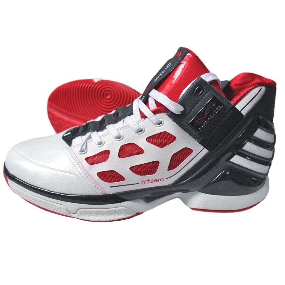 Cómodo y bien parecido Adidas Derrick Rosa Adizero 2 Zapatilla de baloncesto Botas Deporte Trainers