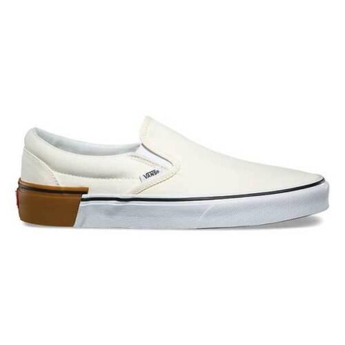 Clásicas Zapatos Clásicos Blancas Vans Cordones Gum Sin 12 Bloque Hombre 0qx4XHp
